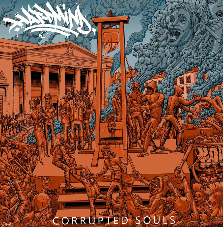 Image of Hard Mind - Corrupted Souls CD