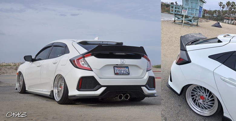 Image of Civic Hatchback 2016-2020 High Duckbill Spoiler