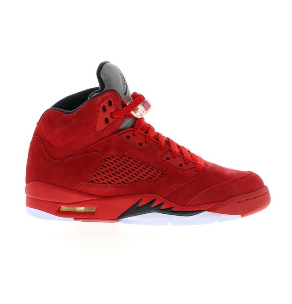 Image of Jordan 5 - Red Suede - Size 8
