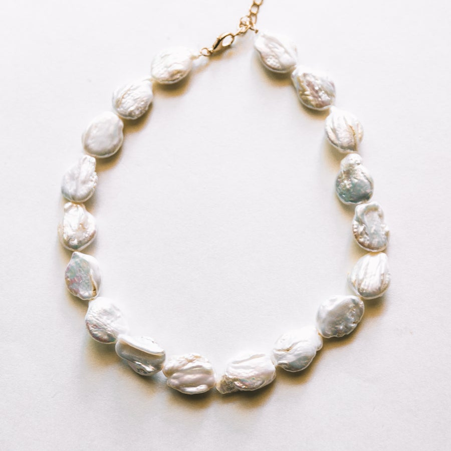 Image of The Large Freshwater Pearl Choker
