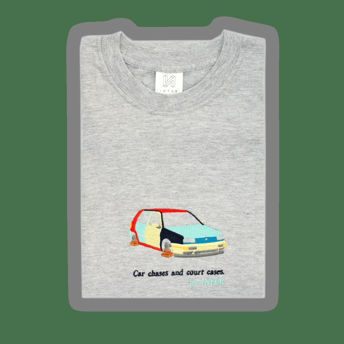 Image of 'Harlequin' T-Shirt Grey