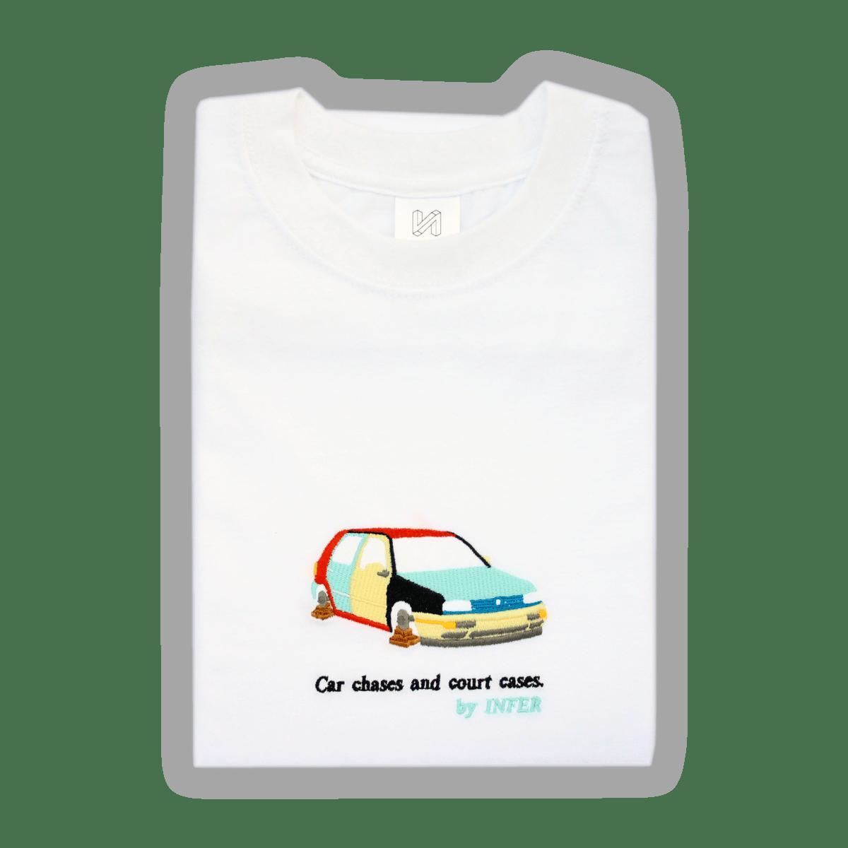 Image of 'Harlequin' T-Shirt White