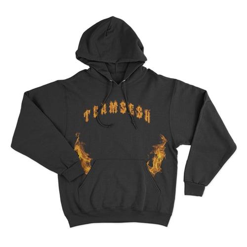 Image of TeamSesh Flames Hoodie