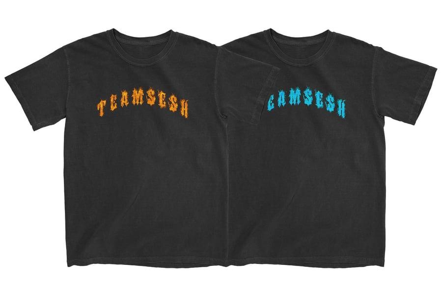 Image of TeamSesh Flames Shirt