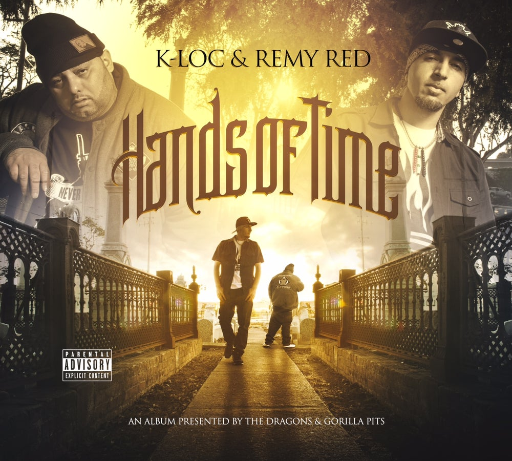 Image of Remy R.E.D & K-Loc HANDS OF TIME Album (Hard Copy)