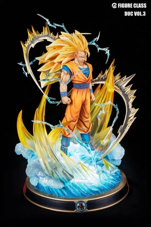 Image of [IN-STOCK]Dragon Ball Z Figure Class SSJ3 Goku Resin Statue