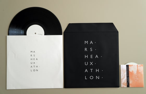 "Image of MARSHEAUX ""Ath.Lon Deluxe"" LP + Rejected Demos CD"