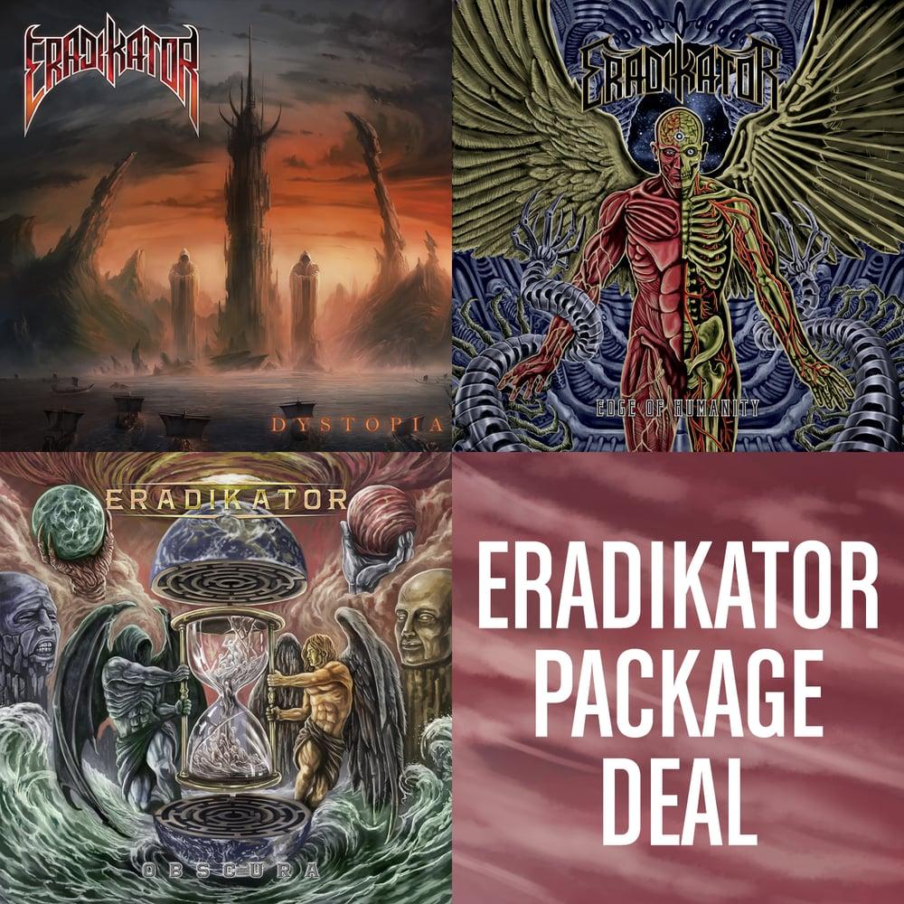 Image of ERADIKATOR [3 CD PACKAGE DEAL]