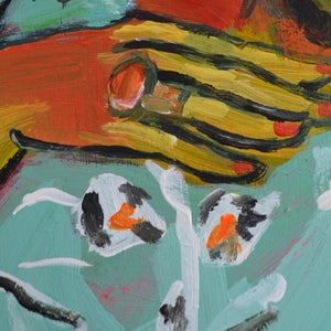 Image of Large Painting, 'Some People will Love You for You,' Poppy Ellis
