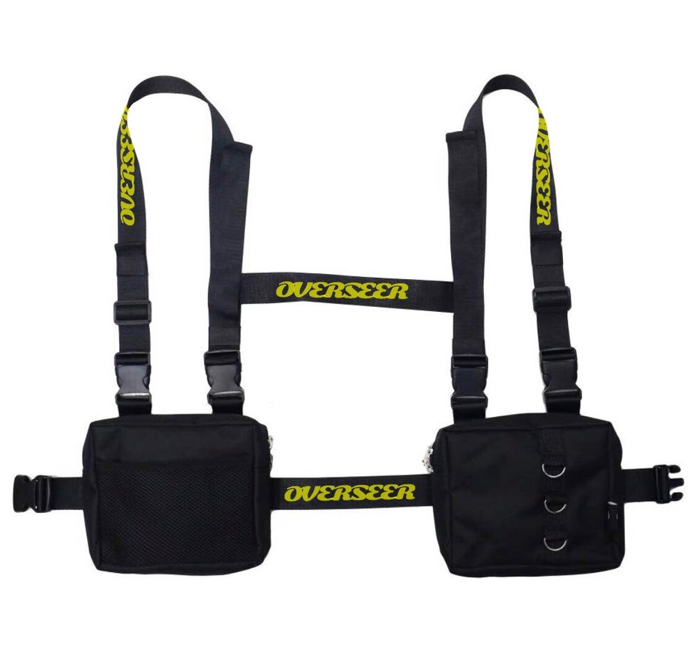 Image of BLACK OVERSEER  HARNESS