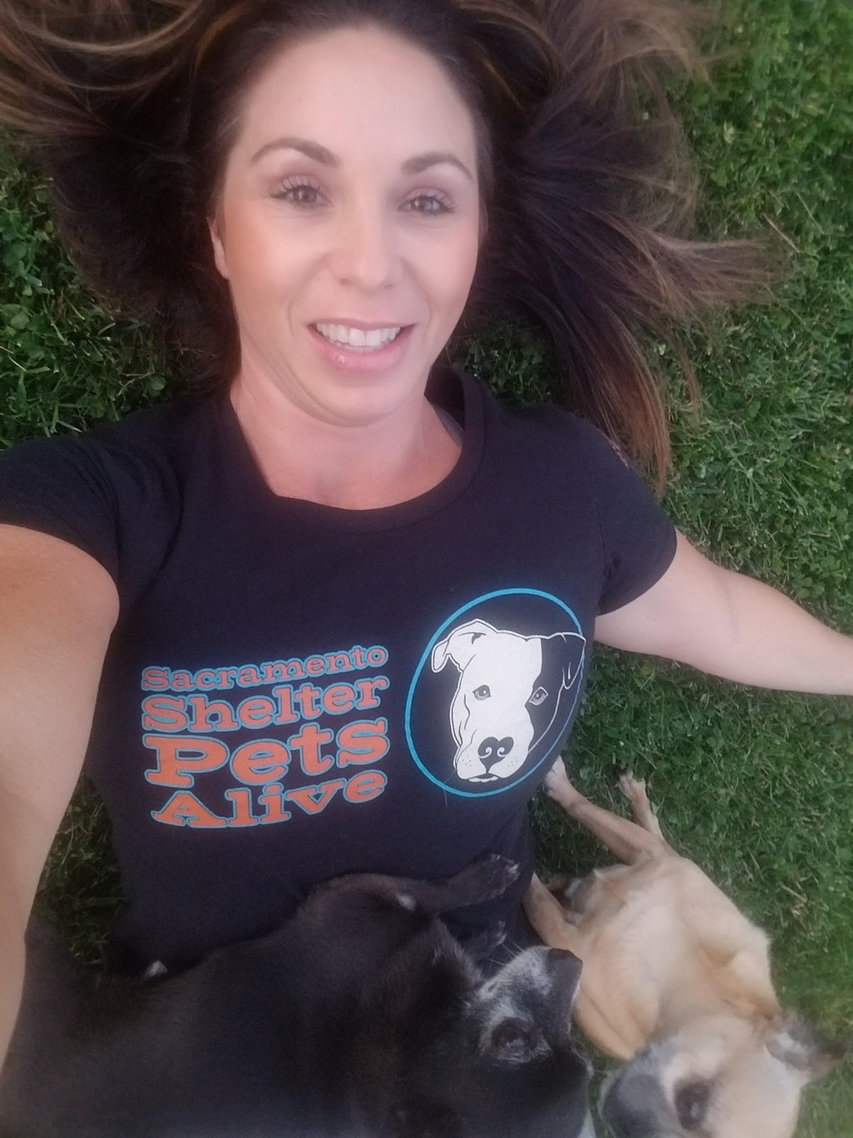 Image of $20 donation - SSPA Where All Dogs Matter Tee