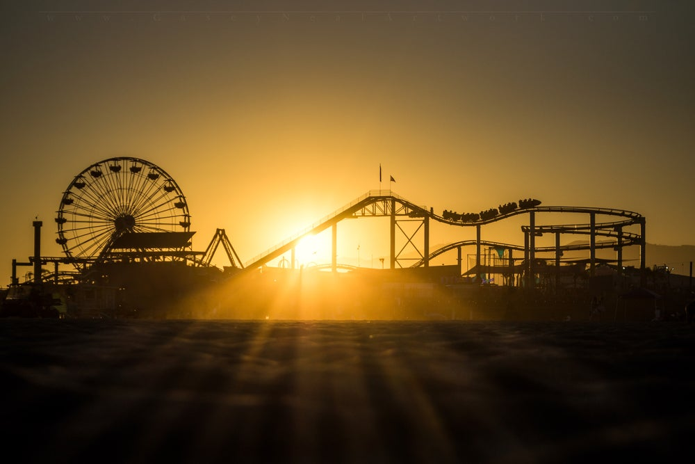 Image of Santa Monica Sunset