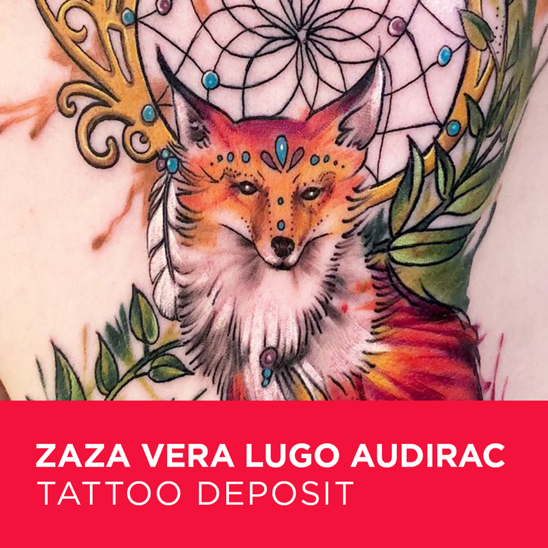 Image of Tattoo Deposit for Zaza Vera Lugo Audirac