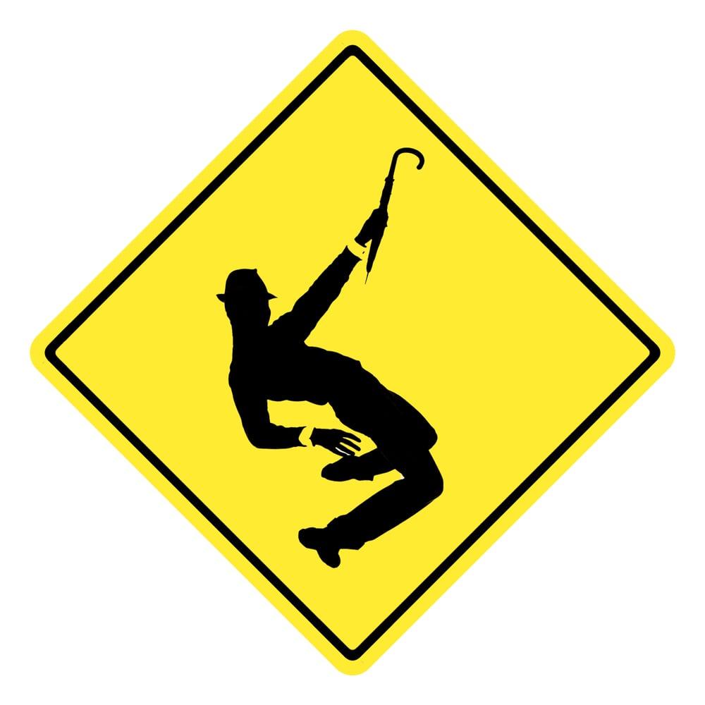 """Image of Dick Van Dyke """"Dance Away"""" Sticker"""