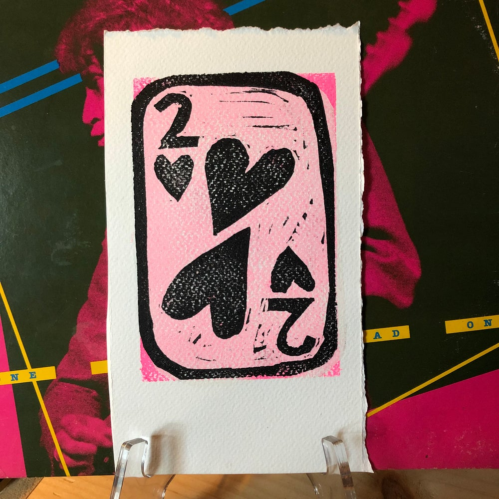 "Image of ""Two of Hearts"" print"