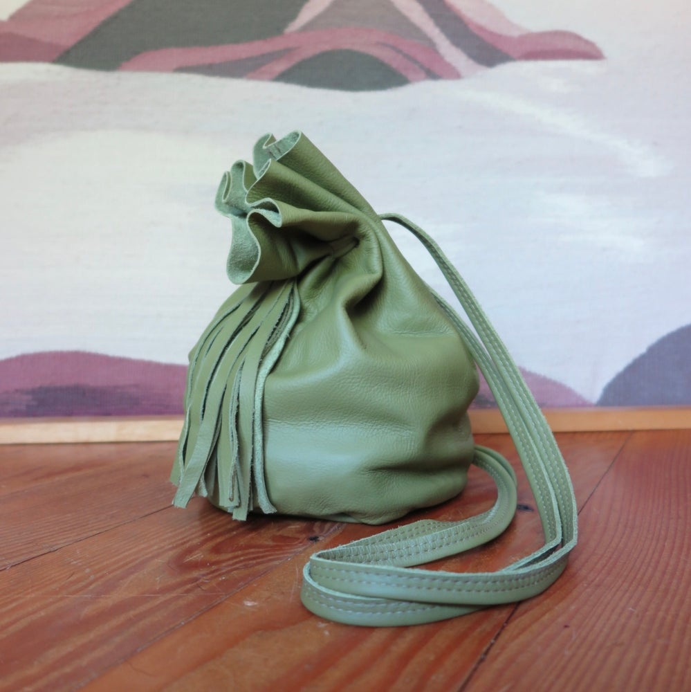 Image of Sadie + Tassels AVOCADO GREEN