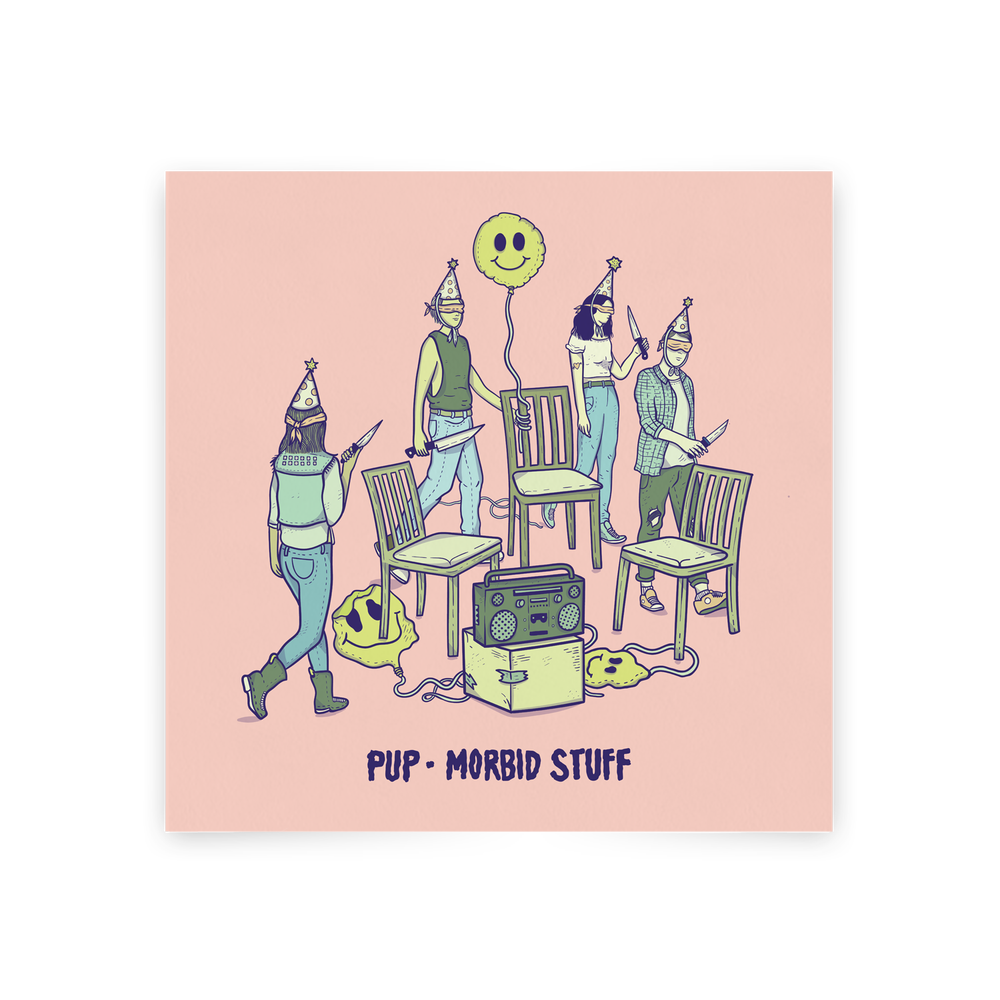 Image of PUP - MORBID STUFF (CD)