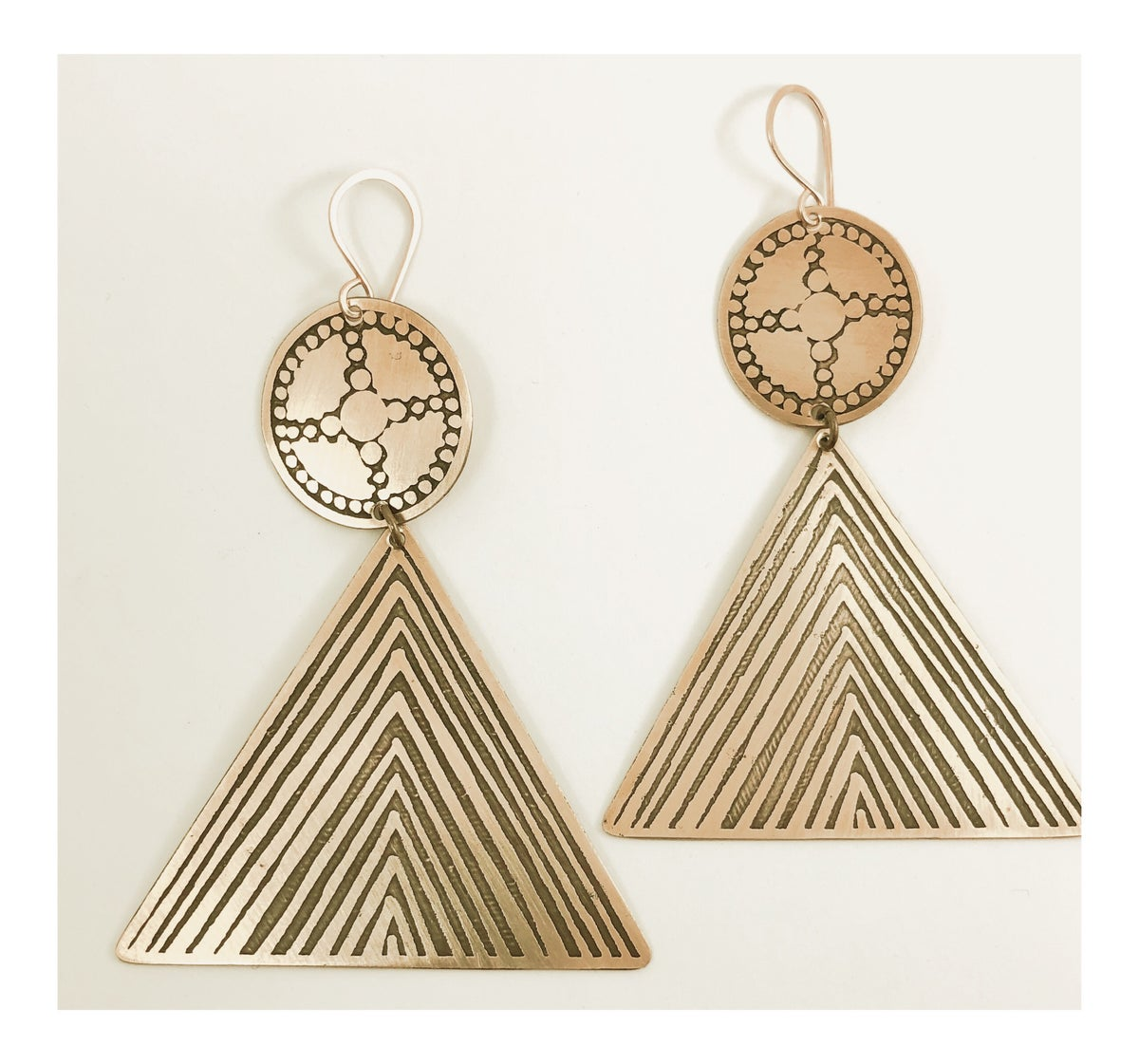 Image of Temple Earrings