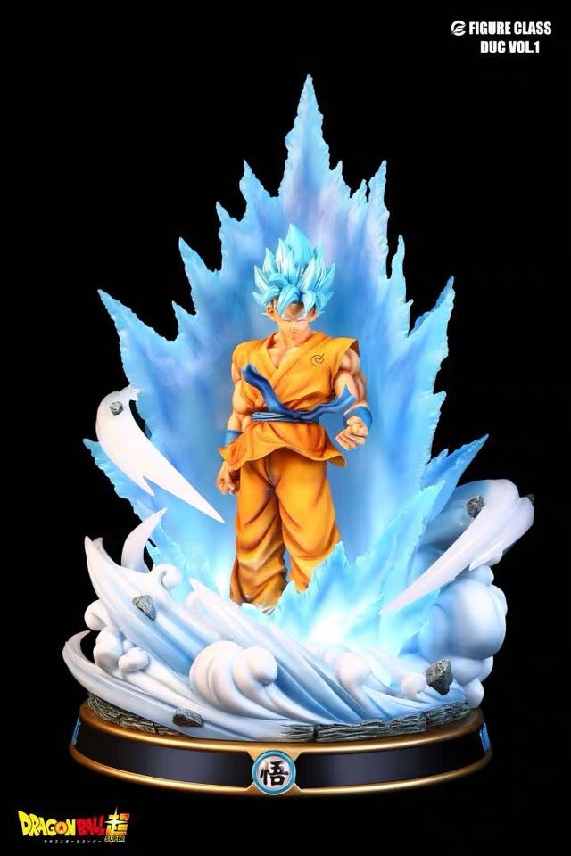 Image of [IN-STOCK]Dragon Ball Super Figure Class Blue Goku Resin Statue