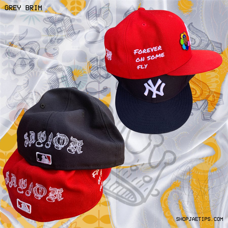 Image of The Savior x New Era Yankee Grey Brim 59fifty