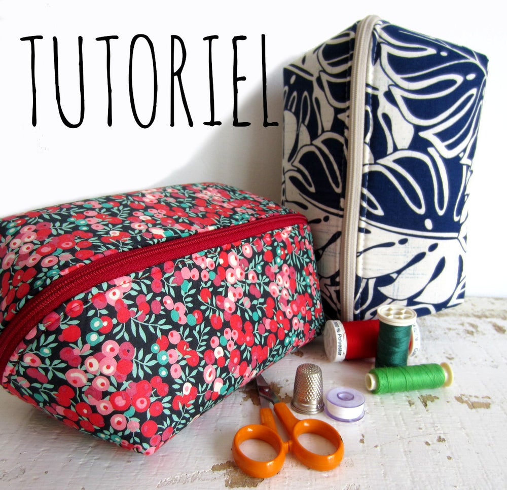 Image of Tutoriel de la trousse zippée Charlotte