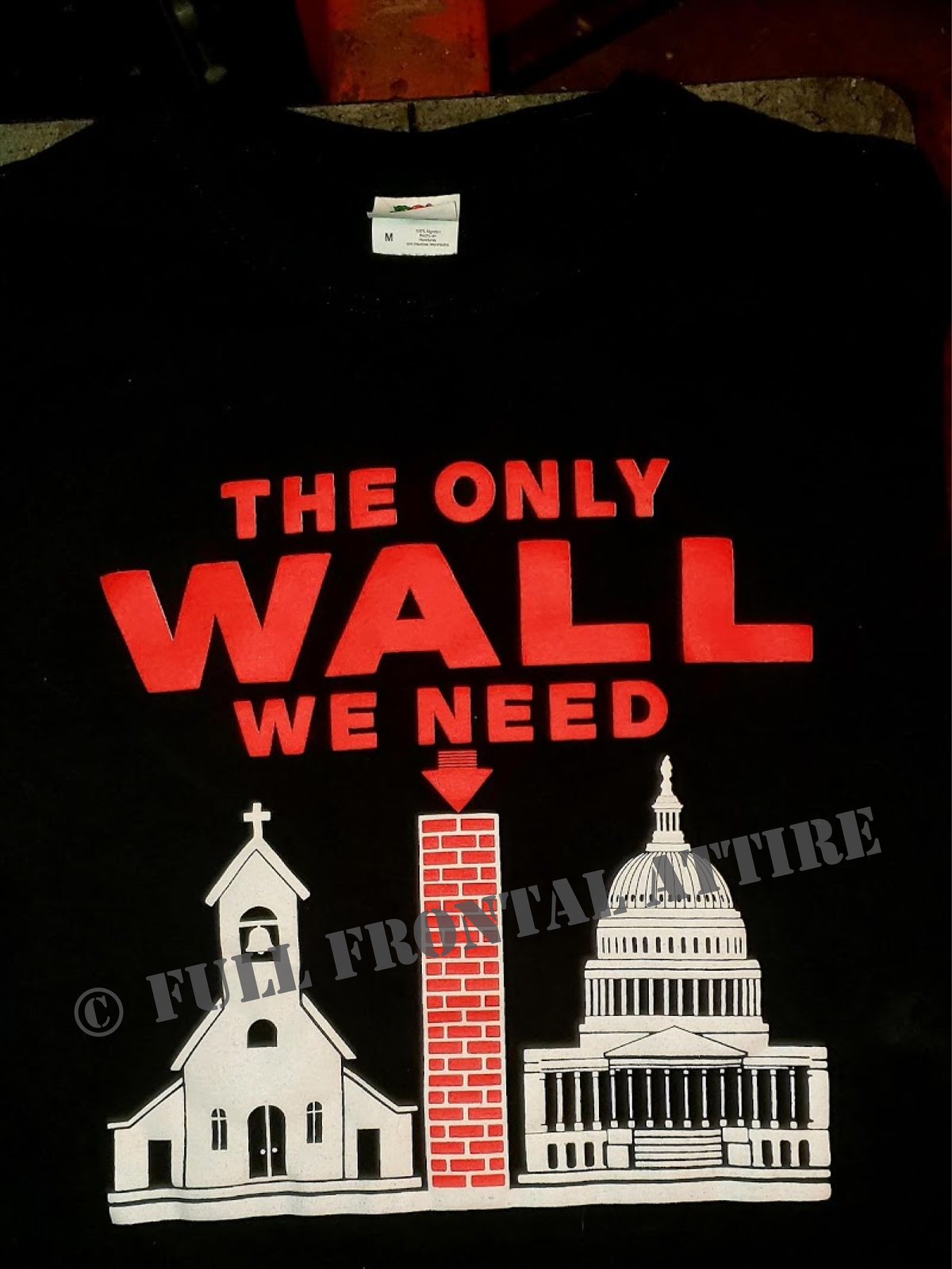 Image of BUILD THIS WALL #MAGA SHIRT