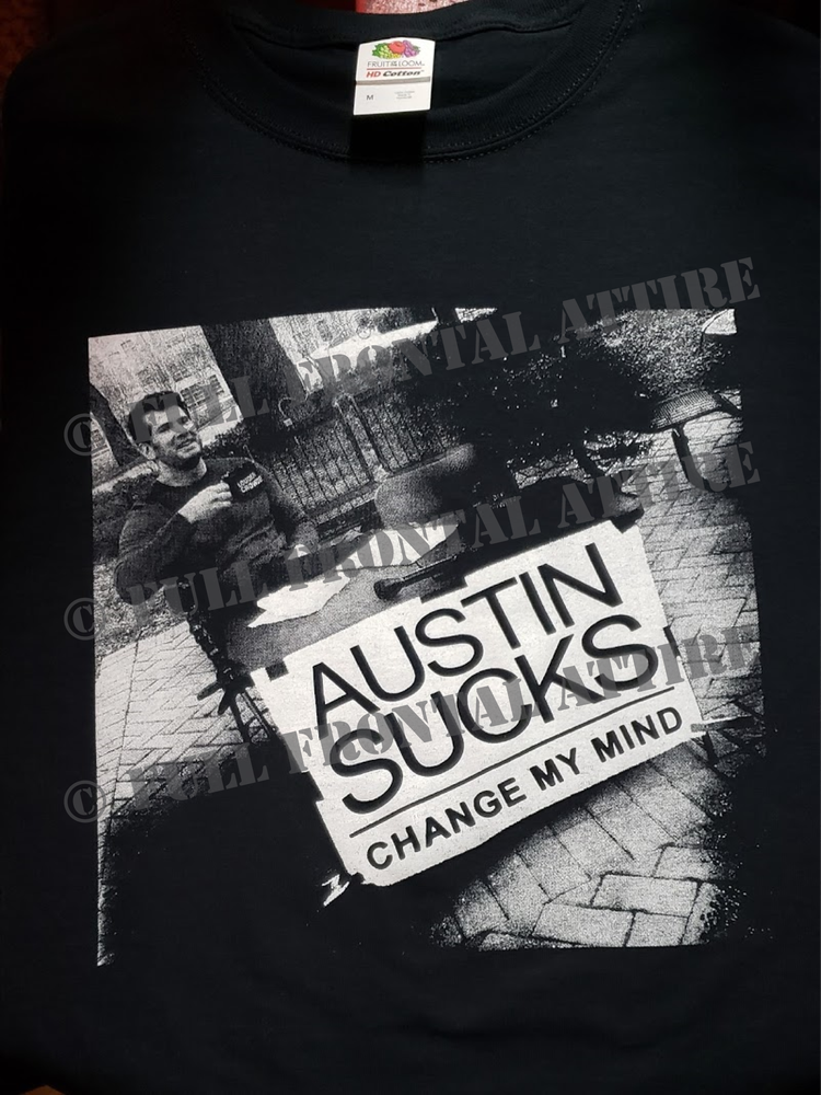 Image of AUSTIN SUCKS