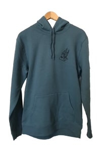 Image of PYRAMID SCHEME HOODIE <BR> SLATE