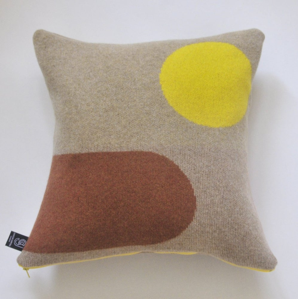 Image of Panton cushion no3 by Giannina Capitani