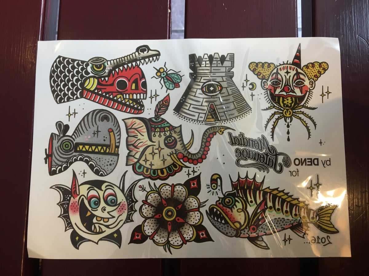 Image of Deno Transfer Tattoos
