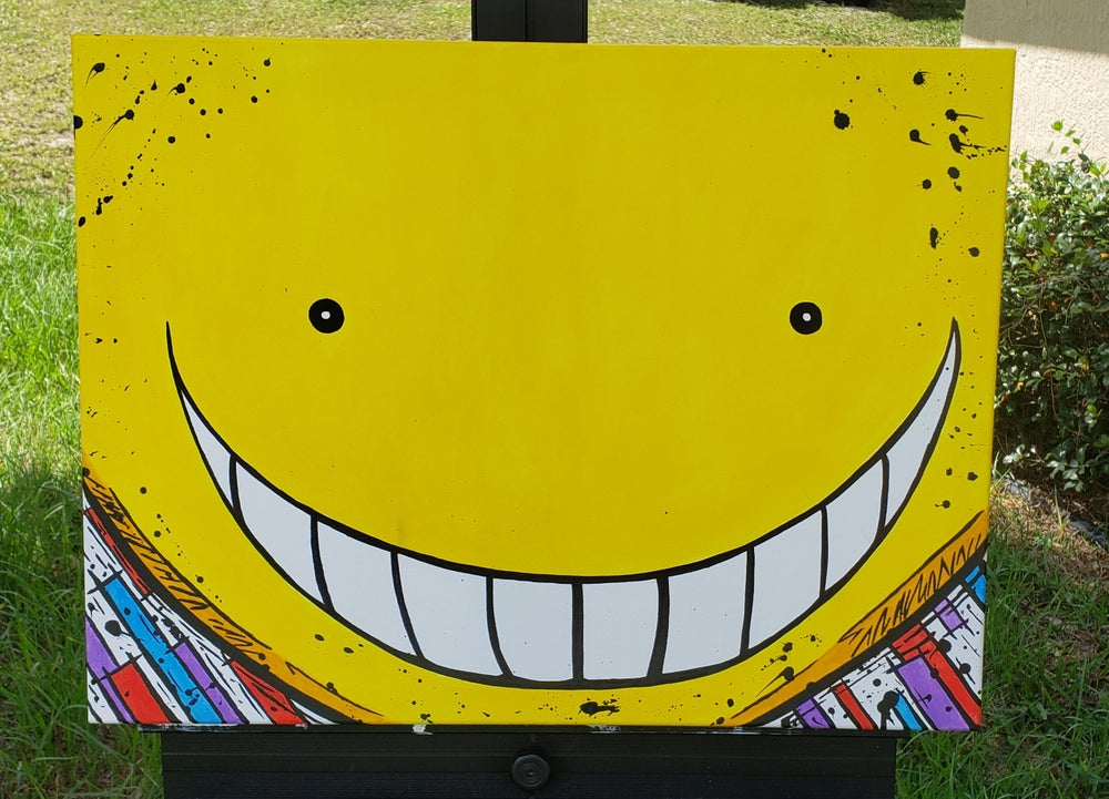 Image of Koro Sensei's smile