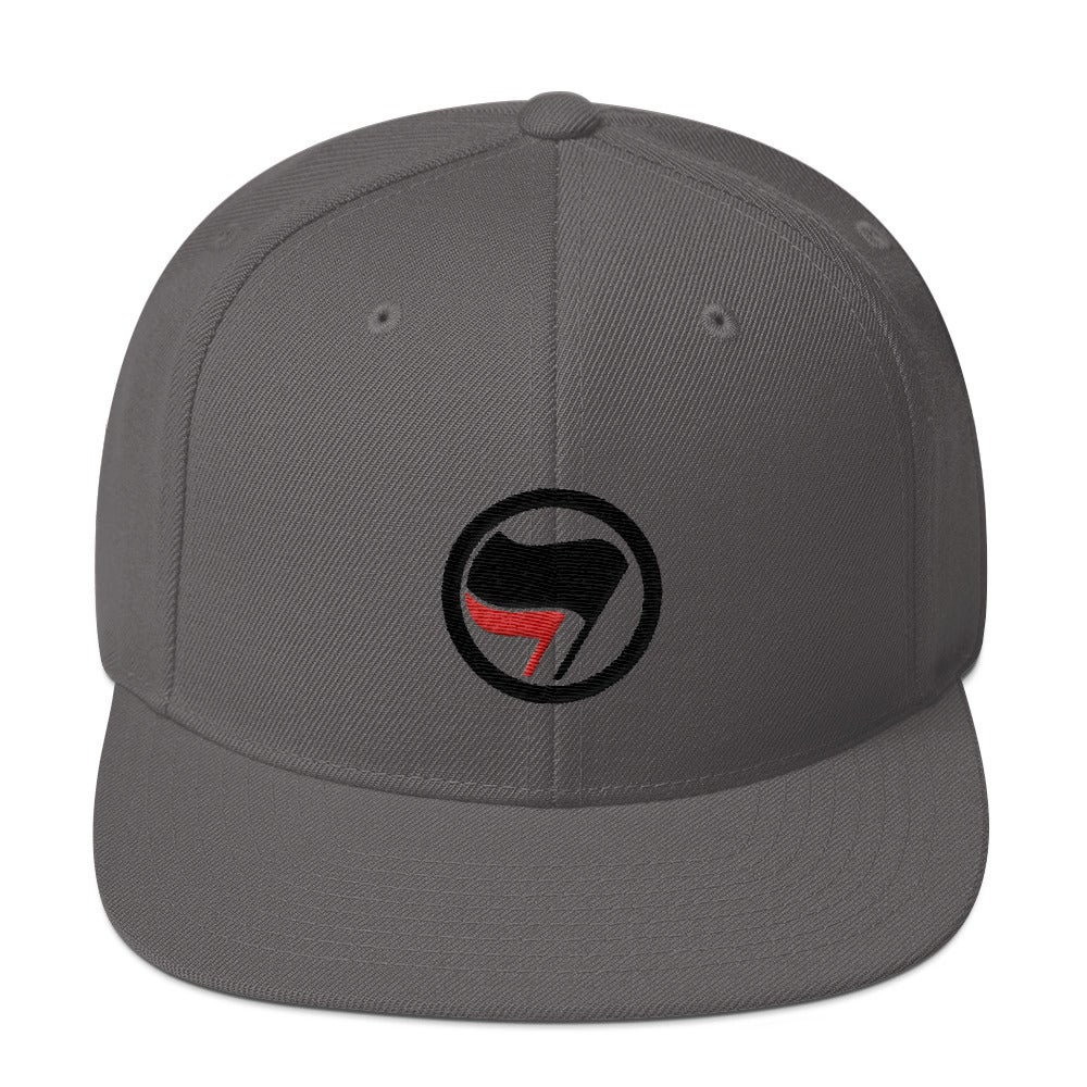 Image of Red Black Flag Antifa Hat