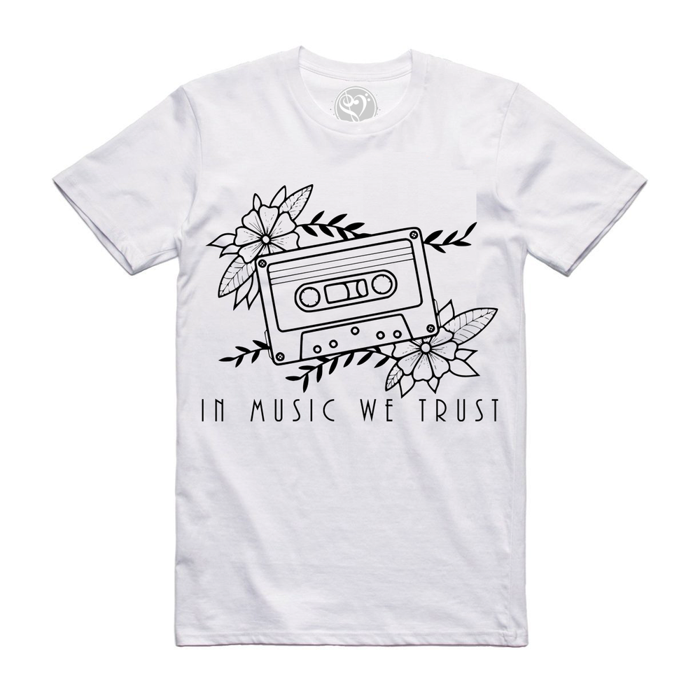 Image of The Cassette - Tee (White)