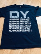 Image of no more feelings - navy blue