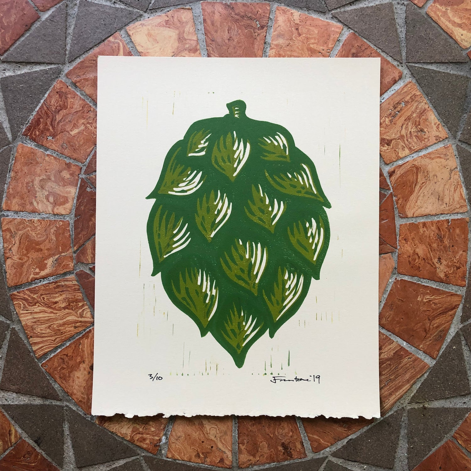 Image of Single Hop print