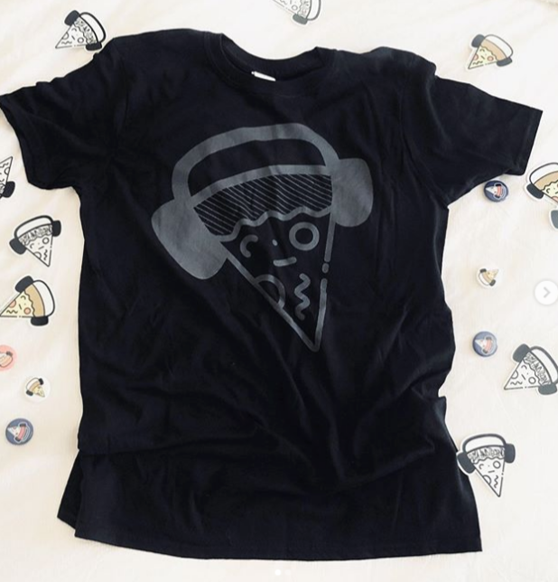 Image of Big Black Pizza Tee