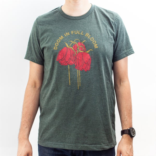 Image of Doom in Full Bloom T-Shirt (Forest)