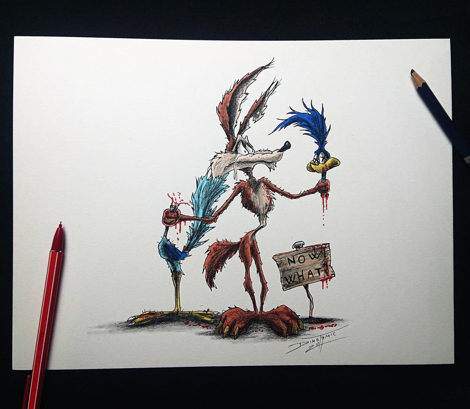 Image of #131 Road Runner Creepyfied