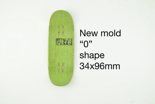 """Image of DK Decks - Blank """"0"""" Shape"""