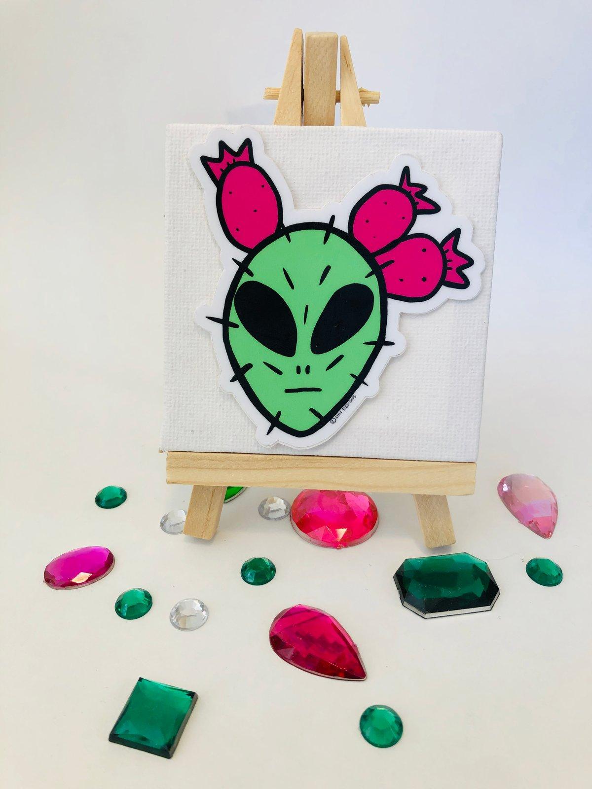 Image of No Pal Alien sticker