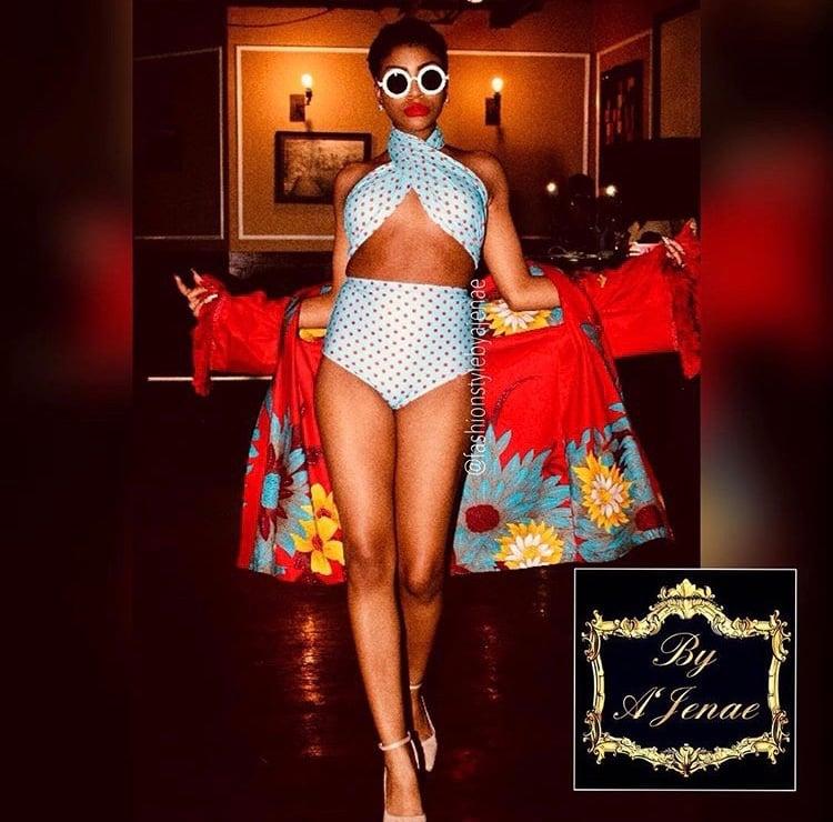 Image of Tamia Twist Top Hi-Waist Bikini
