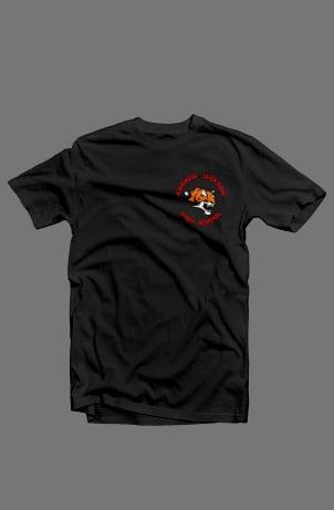 Image of BLACK CREW NECK T-SHIRT