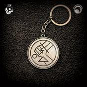 Image of Hellboy/B.P.R.D.: B.P.R.D. Logo key chain!
