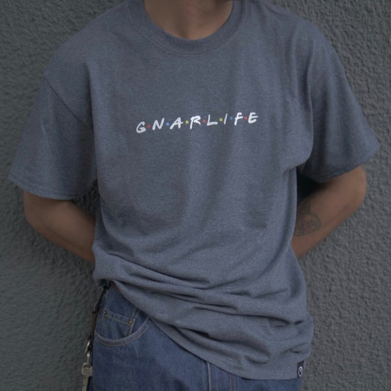 "Image of gnarlife ""friends"" tee"