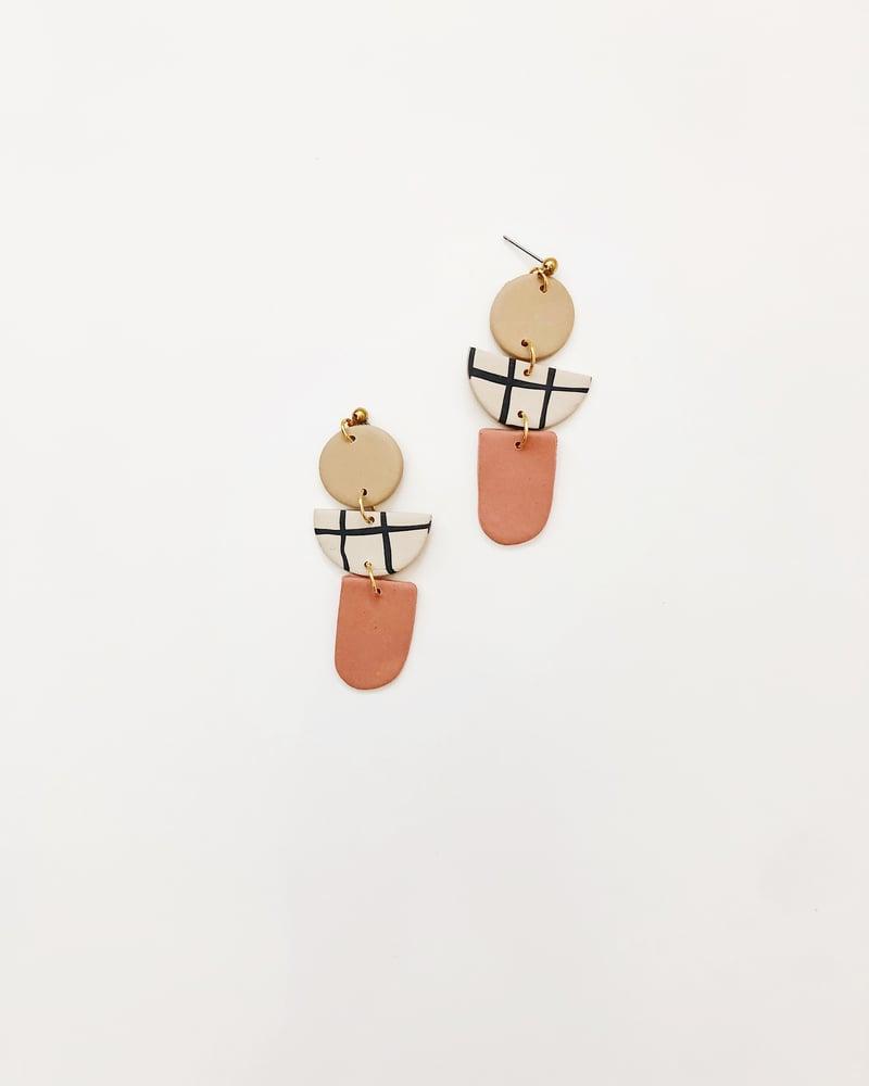 Image of Lola Grid earrings
