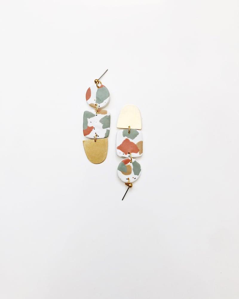 Image of Solange Terrazzo Earrings