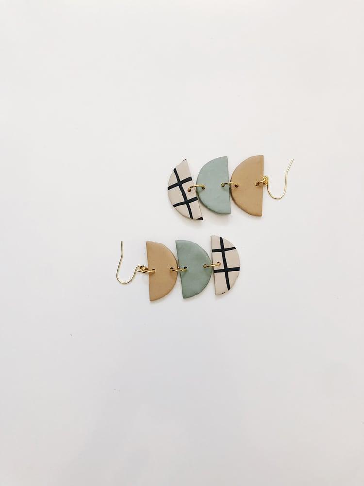 Image of Bea Grid Earrings