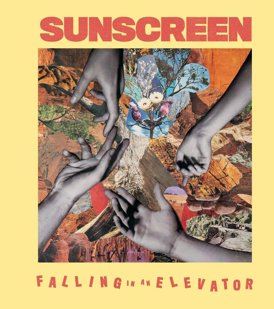 "Image of Sunscreen ""Falling In An Elevator/Just a Drop"" LP"