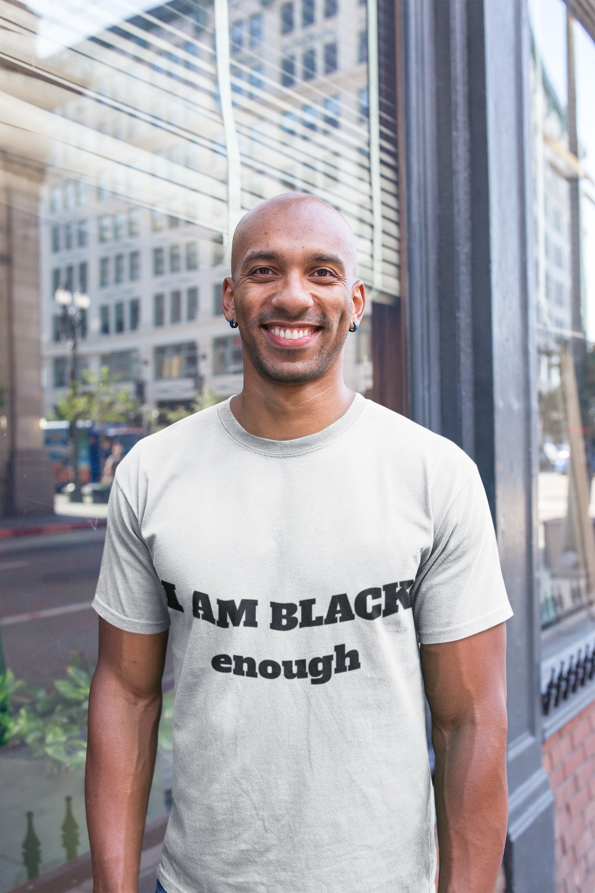 Image of Black enough men's tee