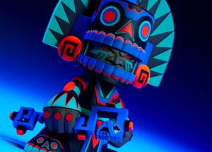 "Image of Mictlan ""Unruly"" (Black Light edition)"